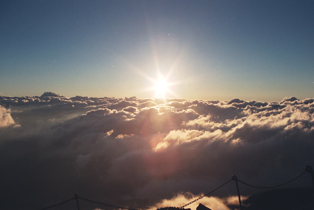 Sunrise on Mount Fuji